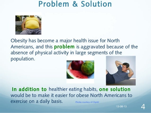 Problem of obesity in america thesis statement
