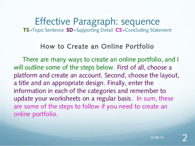paragraph by process Example of a narrative paragraph  read on • • • seven types of paragraphs example of a definition paragraph example of a process analysis paragraph.