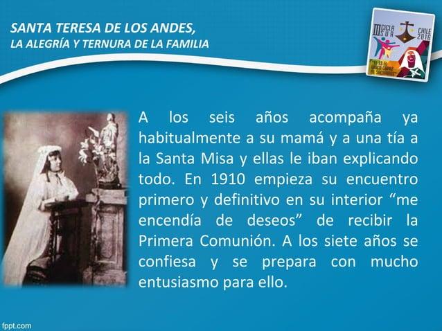 A los seis años acompaña ya habitualmente a su mamá y a una tía a la Santa Misa y ellas le iban explicando todo. En 1910 e...