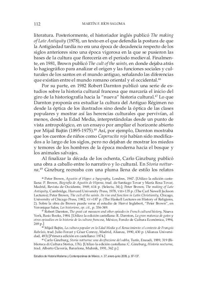 112 MARTÍN F. RÍOS SALOMA Estudios de Historia Moderna y Contemporánea de México, n. 37, enero-junio 2009, p. 97-137. lite...