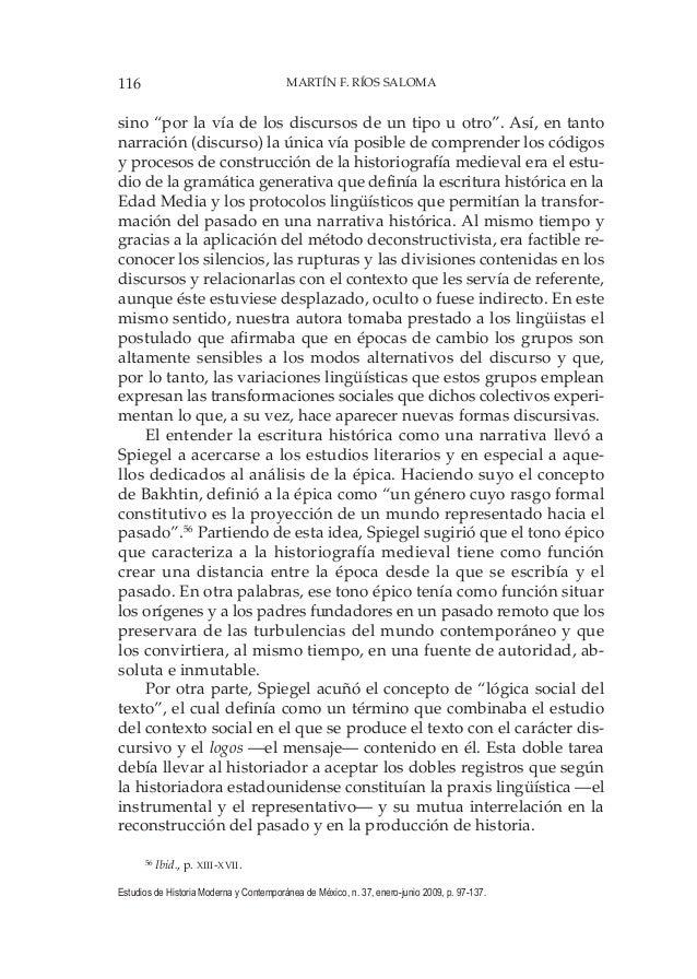 116 MARTÍN F. RÍOS SALOMA Estudios de Historia Moderna y Contemporánea de México, n. 37, enero-junio 2009, p. 97-137. sino...