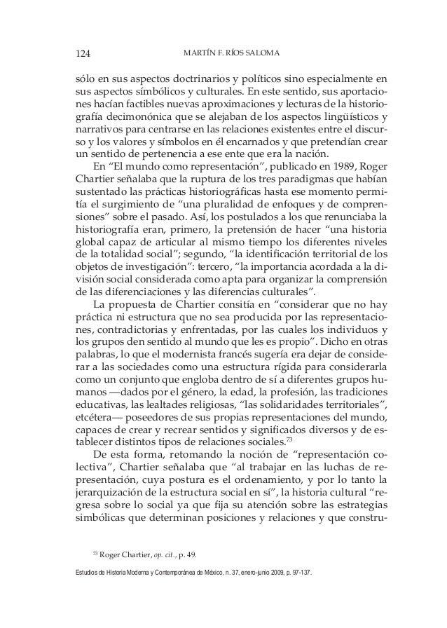 124 MARTÍN F. RÍOS SALOMA Estudios de Historia Moderna y Contemporánea de México, n. 37, enero-junio 2009, p. 97-137. sólo...