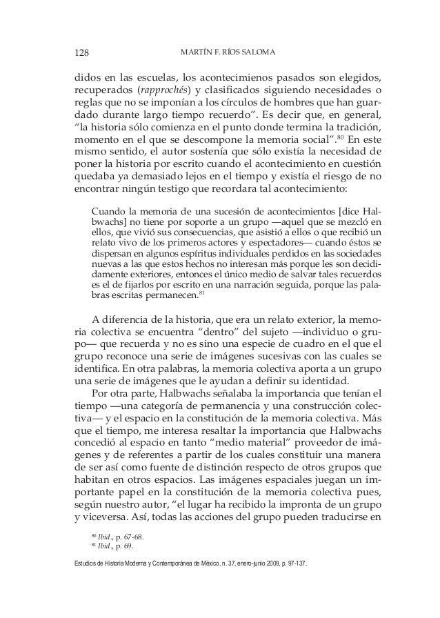 128 MARTÍN F. RÍOS SALOMA Estudios de Historia Moderna y Contemporánea de México, n. 37, enero-junio 2009, p. 97-137. dido...