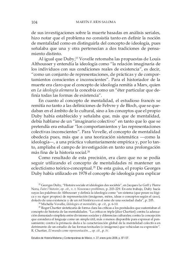 104 MARTÍN F. RÍOS SALOMA Estudios de Historia Moderna y Contemporánea de México, n. 37, enero-junio 2009, p. 97-137. de s...