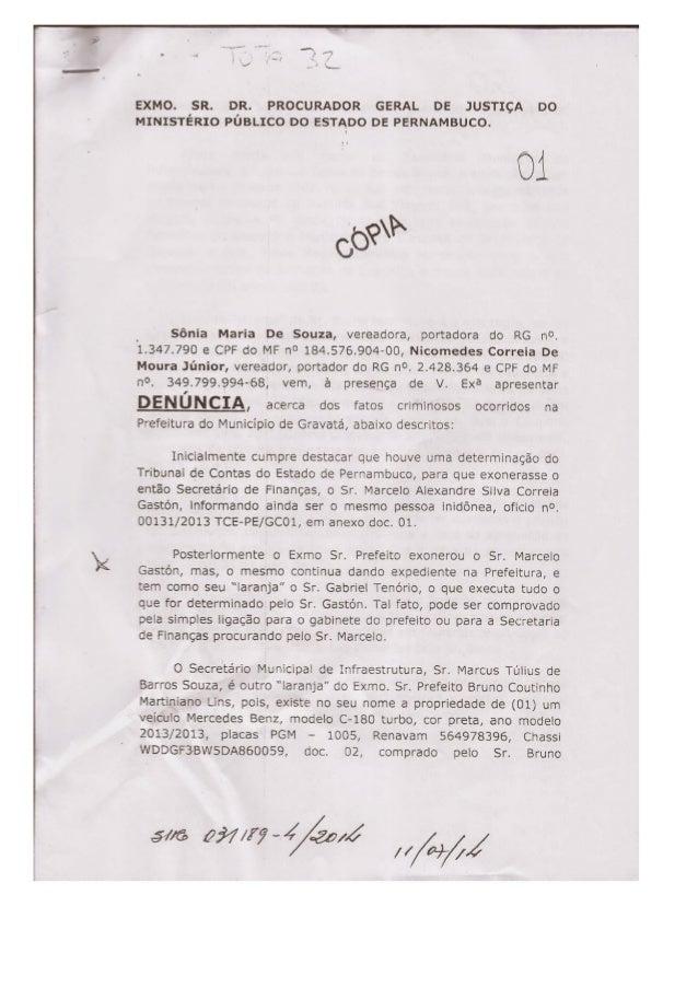 Um pedido de instalação de CPI, para investigar as denúncias apresentadas pelos vereadores de oposição,  em Gravatá, encon...