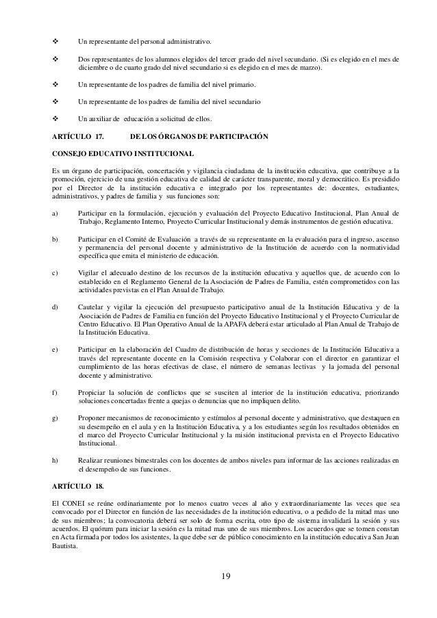 20 ÓRGANO DE ASESORAMIENTO ARTÍCULO 19. DEL COMITÉ DE TUTORÍA Y ORIENTACIÓN EDUCATIVA (TOE) El Comité de Tutoría y Orienta...