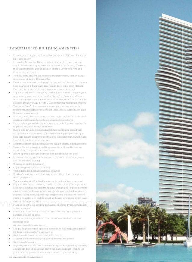 Paraiso Bay Brochure