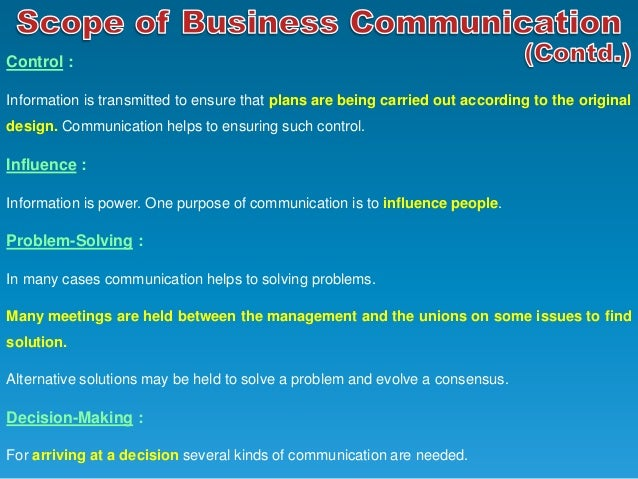 purpose and importance of business communication The purpose of business communication is to convey in a best possible manner the core reason behind the communication is not just important for business.