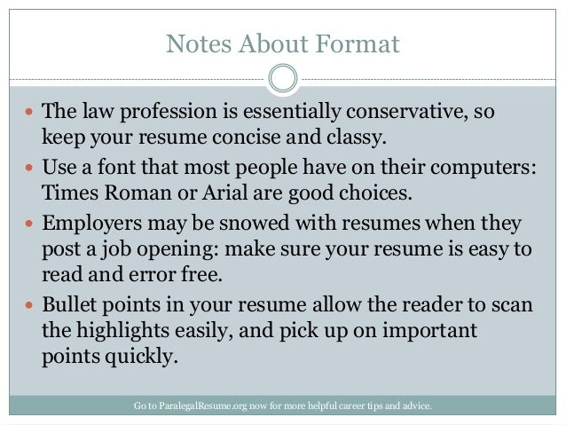 How To Create A Paralegal Resume That Gets You Noticed