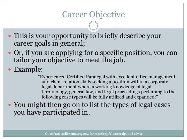 Wonderful Career Objective ...