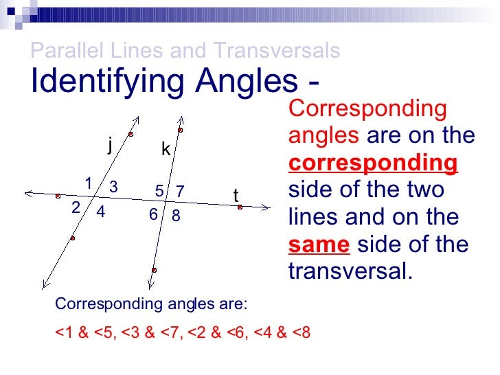 Parallel lines with transversals - Same side exterior angles are congruent ...