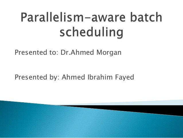 Presented by: Ahmed Ibrahim FayedPresented to: Dr.Ahmed Morgan
