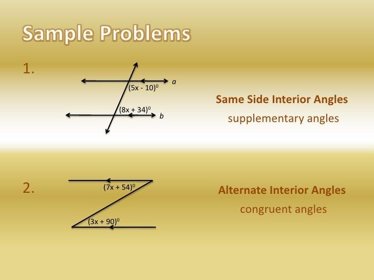 Parallel Line Properties