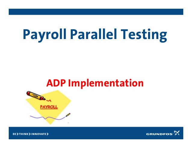 Parallel testing overview