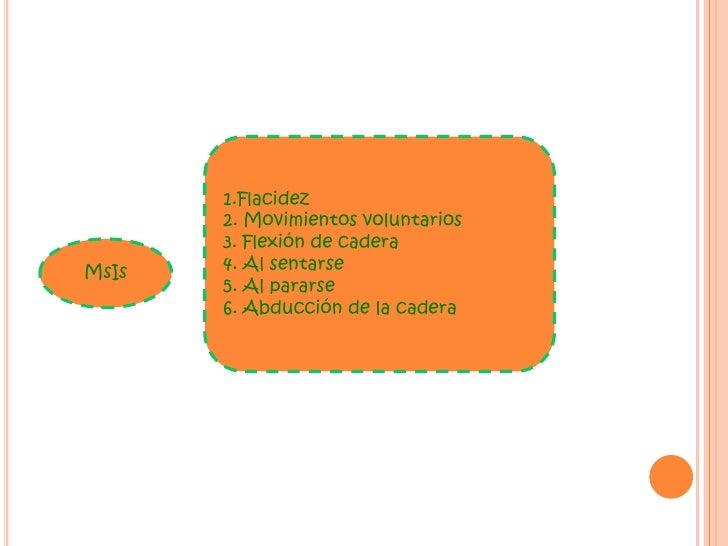 Flacidez<br />Poca flexión <br />Presión en masa<br />Presión lateral <br />Presión palmar <br />Todo tipo de prensión <br...