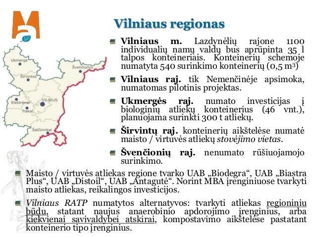 Vilniaus regionas Vilniaus m. Lazdynėlių rajone 1100 individualių namų valdų bus aprūpinta 35 l talpos konteineriais. Kont...
