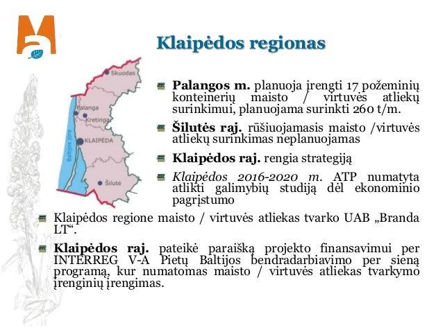 Klaipėdos regionas Palangos m. planuoja įrengti 17 požeminių konteinerių maisto / virtuvės atliekų surinkimui, planuojama ...