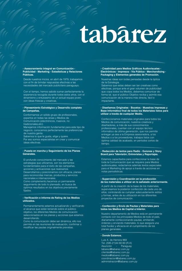 - Asesoramiento integral en Comunicación - Publicidad - Marketing - Estadísticas y Relaciones Públicas.   Desde nuestros i...