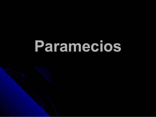 ParameciosParamecios