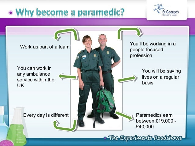 Paramedic Science Roadshow 2010