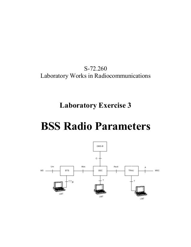 S-72.260 Laboratory Works in Radiocommunications  Laboratory Exercise 3  BSS Radio Parameters