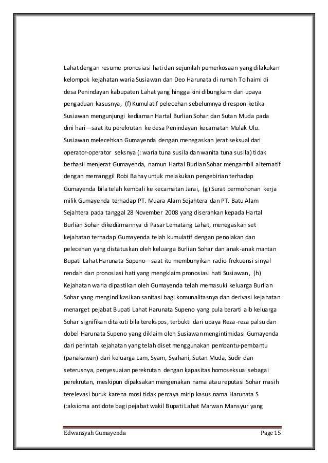 parameter on may 31st june 30th 2014 lagak busuk indra