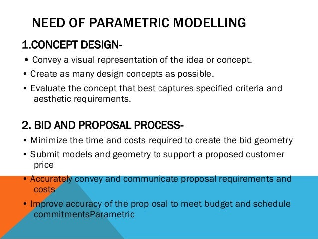 DESIGN INTENT In parametric modeling, dimensions control the model. Design intent is how your model will react when dimens...