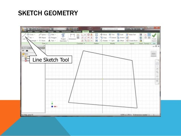 CREATE NEW SKETCH PLANE Sketch plane selected with left mouse click Sketch Button