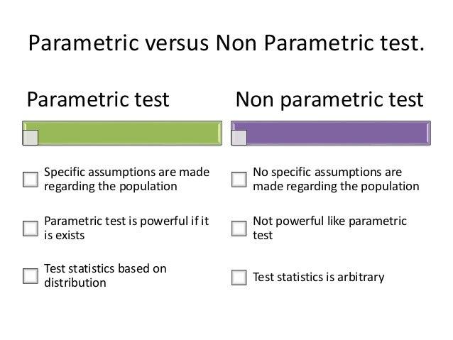 A nonparametric test
