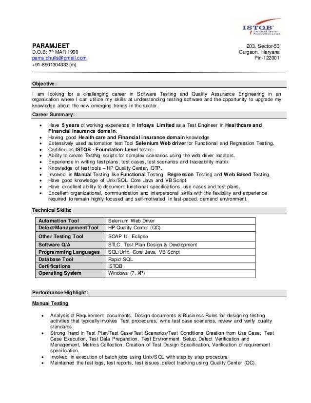 PARAMJEET 203, Sector-53 D.O.B: 7h MAR 1990 Gurgaon, Haryana pams.dhulls@gmail.com Pin-122001 +91-8901304333(m) Objective:...