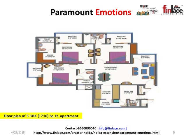 Paramount Emotions Located At Greater Noida West Offering 2 3 Bhk