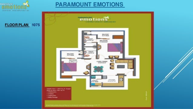 Paramount Emotions 8750 988 788 2 3 Bhk Apartments Noida Extension