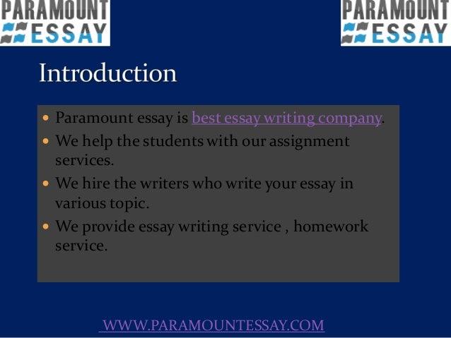 paramount essay best essay writing
