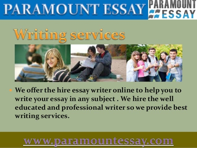 The reasons why you should use an essay writing service