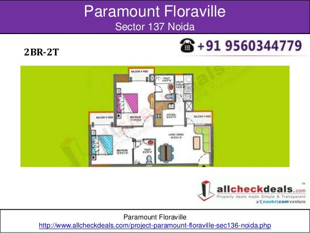 Paramount Floraville Apartments With Modern Style In Noida