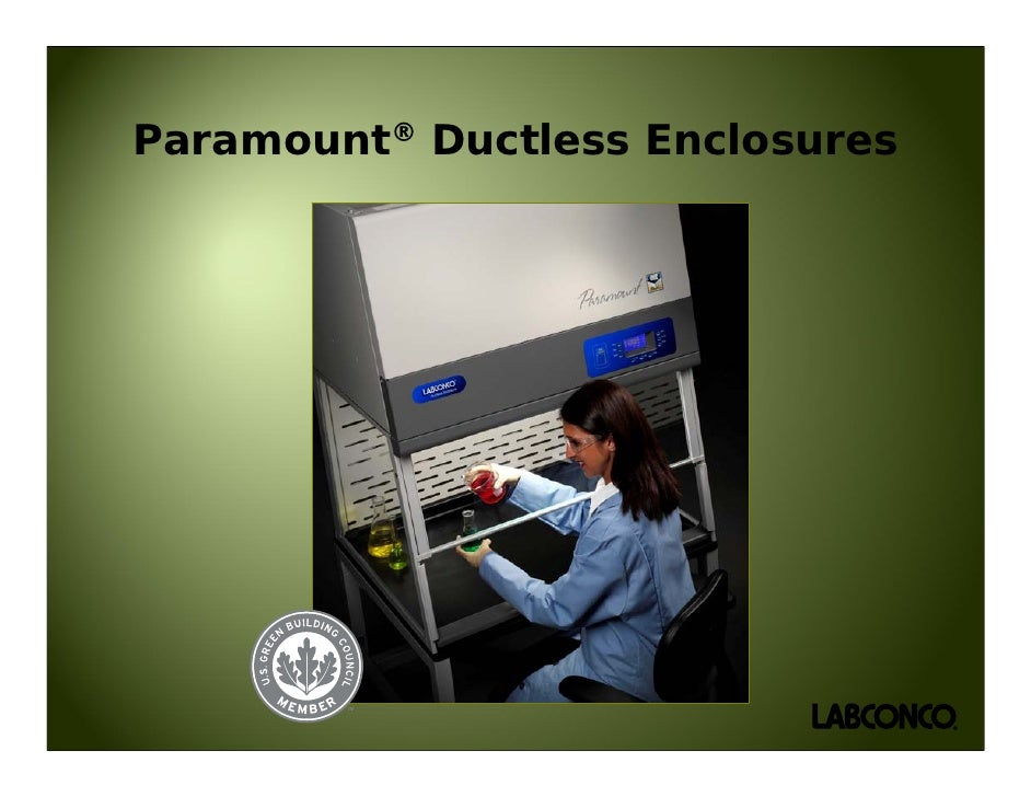 Paramount® Ductless Enclosures