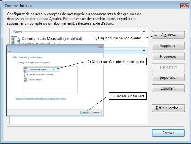 Paramétrage comptes