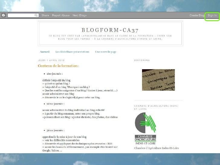 Paramétrage Du Blog Slide 2