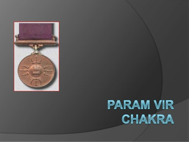 History of the Param Vir Chakra  It was instituted on January 26, 1950, having been designed by a Hungarian-Russian woman...