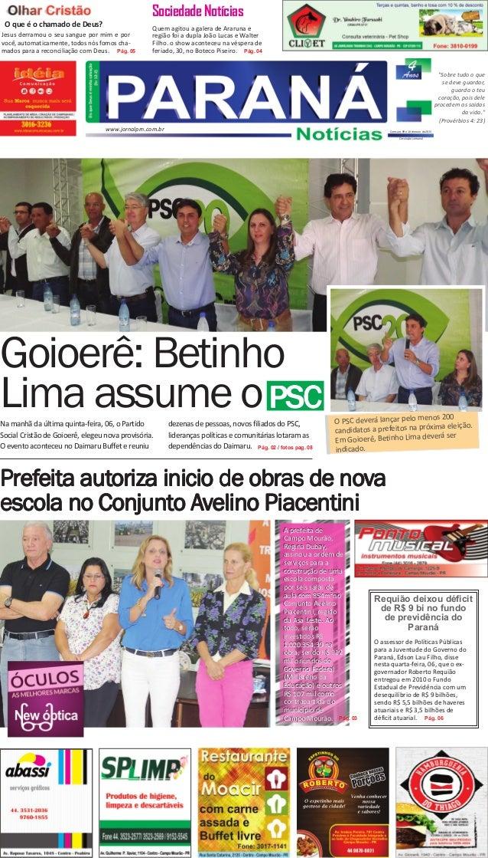 O PSC deverá lançar pelo menos 200 candidatos a prefeitos na próxima eleição. Em Goioerê, Betinho Lima deverá ser indicado...