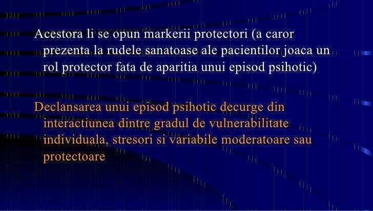 <ul><ul><li>Acestora li se opun markerii protectori (a caror prezenta la rudele sanatoase ale pacientilor joaca un rol pro...