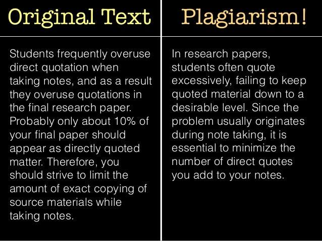 paraphrasing  u0026 plagiarism