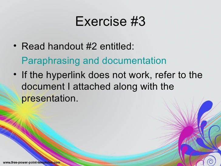 Paraphrasing text program