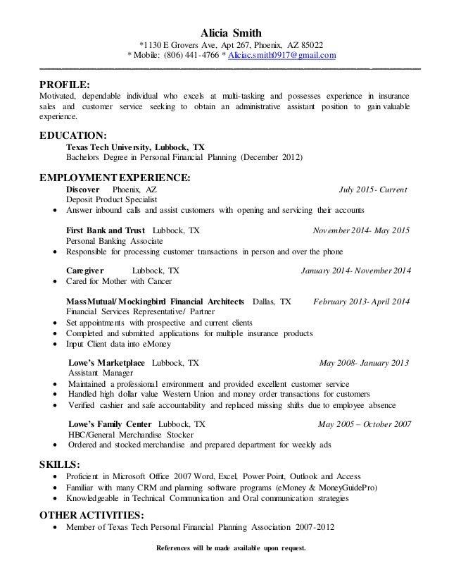 paraplanner 2015 resume