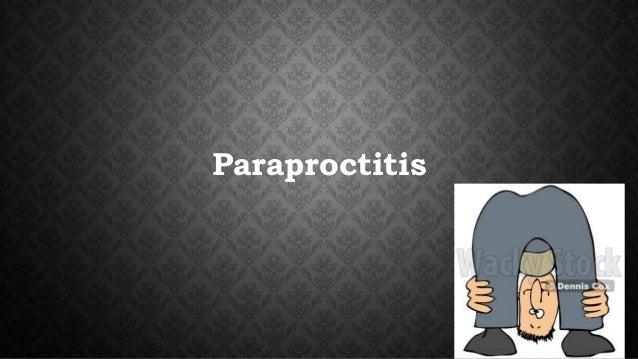 Paraproctitis