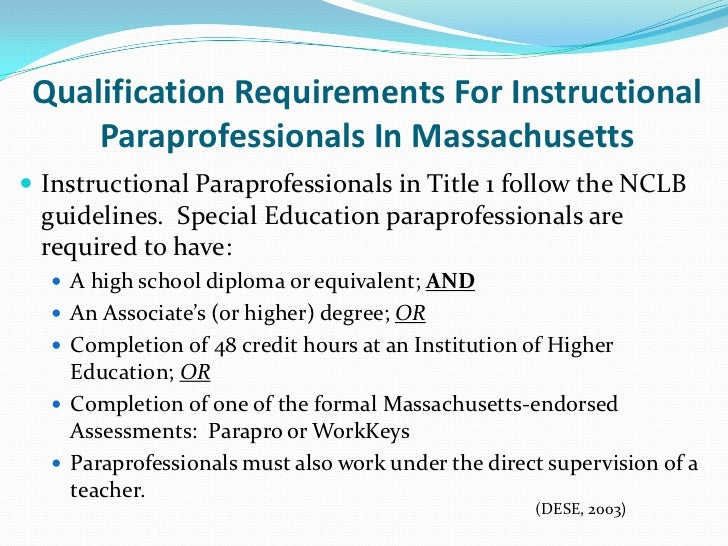 When Is Use Of Paraprofessionals >> Paraprofessional Training Is It Currently Best Practice