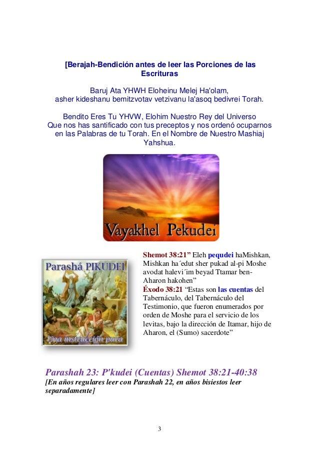 Parasha nº 23 pekudei  9 marzo 13 Slide 3
