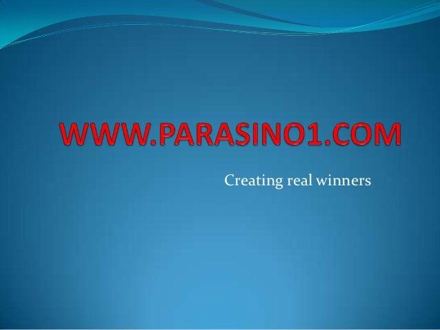Creating real winners