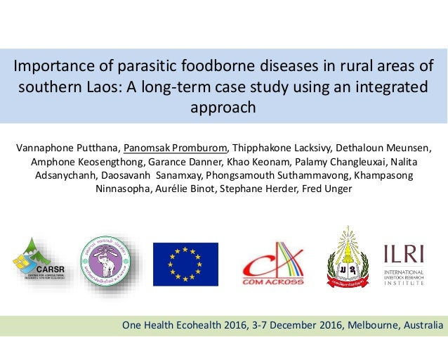 Importance of parasitic foodborne diseases in rural areas of southern Laos: A long-term case study using an integrated app...