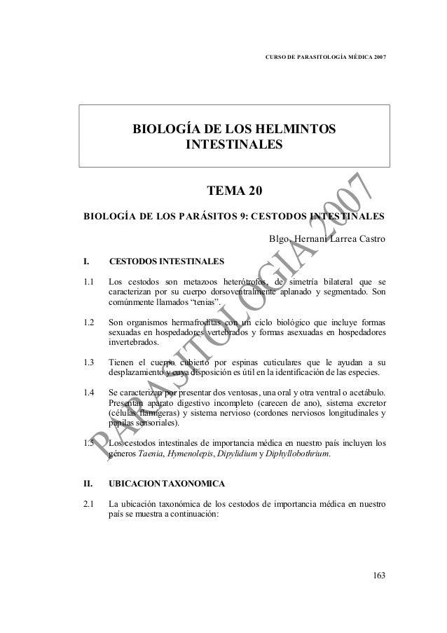 Parasitología temas 20 24 (céstodos intestinales-nemátodos intestinal…